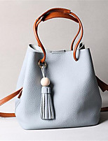 Women PU Casual / Outdoor Shoulder Bag Blue