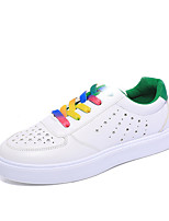 Women's Shoes Libo New Style Platform Casual / Office / Outdoor Comfort Red / Green Breathable Fashion Sneakers