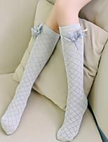 Girls Socks & Stockings,All Seasons Cotton Black / Pink / White / Gray