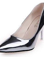 Women's Shoes Leatherette Spring / Summer / Fall Heels / Pointed Toe Heels Office & Career / Party & Evening