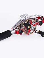 Spinning Reels 2.5/1 2 Ball Bearings Exchangable Bait Casting / General Fishing-AKG60 Pinzuan