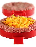 DIY Plastic Hamburger Meat Beef Grill Burger Press Patty Maker Mold Mould KitchenStufz Machine Patties