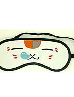 Natsume Yuujinchou Flannel White Cat Snooze Sleeping Eye Mask