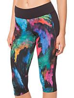 Carrera Prendas de abajo / 3/4 Medias Mujer Transpirable / Secado rápido / Elástico Yoga / Running Deportes Alta elasticidad Apretado