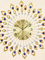 The Modern Style Of Fashion Creative Diamond Iron Wall Clock