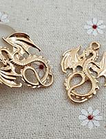 20st Targaryen dragon gegoten hanger kraal charme ketting (27 * 34mm)