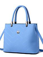 Women-Formal / Event/Party-Cowhide-Shoulder Bag-Blue / Red / Black