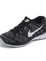 Nike Flyknit Lunar 3 Low Men's Running Shoe Trainers Sneakers Athletic Shoes Black Purple Yellow Orange