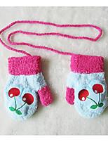 Girls / Boys Gloves / Belts,Winter / All Seasons Wool Black / Blue / Brown / Green / Pink