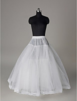 Slips Ball Gown Slip Floor-length 3 Polyester White