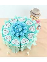 Geschenkboxen(Himmelblau,Kartonpapier) -Nicht personalisiert-Jubliläum / Brautparty / Babyparty / Quinceañera & Der 16te Geburtstag /