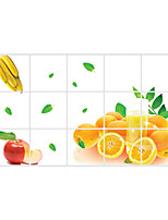AY3023 Orange Stickers Fruit Decals Florals / Shapes Wall Stickers Plane Wall Stickers,pvc 45*75cm