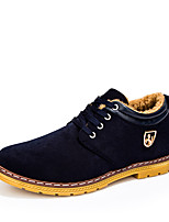 Men's Shoes Casual Fleece Fashion Sneakers Blue / Yellow / Burgundy