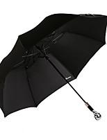 2016 o novo guarda-chuva dobra estilo protetor solar com alça de metal