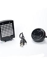 Eclairage de Velo,Eclairage ARRIERE de Vélo-1 Mode 400LM Lumens Facile à transporter CR2032x2 Batterie Cyclisme/Vélo Noir Vélo # #
