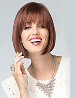 Brown Color Cosplay Wigs Heat Resistant Synthetic Wholesale Short Straight Party Cosplay Wig