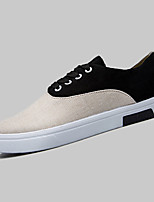 Men's Spring / Summer / Fall Comfort PU Casual Flat Heel Black / Blue / Green / Orange Sneaker