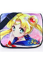 Sailor Moon-Cosplay-Negro-Nailon-Más Accesorios-