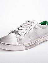 Men's Shoes Microfibre Outdoor / Athletic / Athletic / Casual Walking Flat Heel Rhinestone / Lace-upBlack / Green