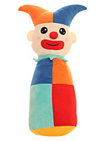 Cylindrical Circus Clown Plush Toy Doll Cute Cartoon Pillow Doll Girl Gift
