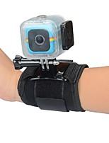 2 GoPro Accessoires Bevestiging / Monopod / Bandjes Voor Polaroid Cube Waterbestendig Universeel polycarbonaat / Nylon zwart