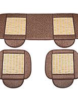 Bamboo Car Seat Cushion 3PCS Ivory