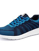 Women's Shoes Tulle Spring / Summer / Fall Comfort / Styles Outdoor Flat Heel Blue / Green / Gray / Orange