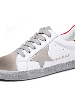 Women's Shoes Synthetic Spring / Summer / Fall / Winter Comfort Sneakers Athletic / Casual Flat Heel White