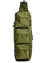 6 L Hiking & Backpacking Pack / Shoulder Bag Camping & Hiking Outdoor Multifunctional Army Green Oxford Other