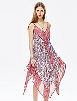 Heart Soul® Women's Strap Sleeveless Asymmetrical Dress-11AA17654