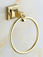 Towel Ring / Polished Brass / Wall Mounted /20*15*20 /Brass /Antique /20 15 0.406