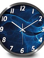 Personality Trend Of Blue Smoke Electronic Quartz Wall Clock