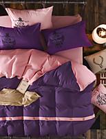 Betterhome  Button style Edition Reactive  Duvet Cover Sets Fashion Comfortable Series Bedding Four Sets
