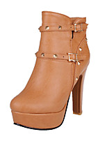 Women's Shoes    Heels / Fashion Boots Boots Outdoor / Office & Career / Casual Chunky Heel OthersBlack /  &199-8