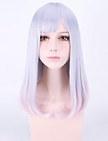 japanese harajuku lolita perruque perruques de cheveux naturels bon marché style charmant violet clair qualité supérieure