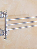 Barre porte-serviette / Chrome / Fixation Murale /32*8*22 /Alliage de Zinc /Antique /32 8 0.99