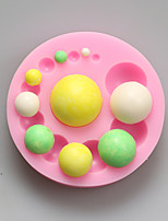 Balls Chocolate Silicone Molds,Cake Molds,Soap Molds,Decoration Tools Bakeware
