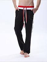 Corsa Pantaloni / Pantalone Per uomo Traspirante / Asciugatura rapida Yoga / Taekwondo / Fitness / Attività ricreative SportivoGiallo /