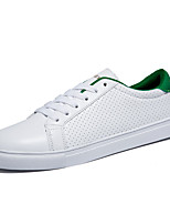Men's Shoes / Athletic / Casual Leather Fashion Sneakers Black / White/Green/Black and White