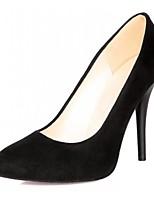 Femme / Fille / Homme-Bureau & Travail / Habillé / Décontracté-Noir / Bleu / Rouge-Talon Aiguille-Talons-Chaussures à Talons-Similicuir
