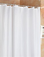 Casual Solid Shower Curtains W71