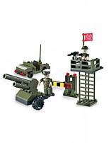 Plastique Building Blocks DIY Toys Pour Boy Vert