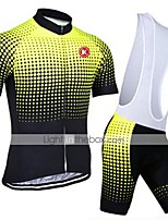 KEIYUEM® Summer Cycling Jersey Short Sleeves + BIB Shorts Ropa Ciclismo Cycling Clothing Suits #K94