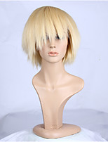 Natural Blonde Color Popular Straight Synthetic Wig For Woman