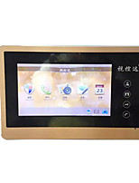 TP-SD53 HD LCD Touch Screen Digital Video Intercom Doorbell Doorbell Villa 7 Inch Infrared Night Vision