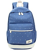 Women-Sports / Casual-Canvas-Backpack-Blue / Green / Red / Black