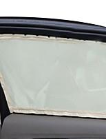 sol del coche de la ventana de malla de nylon lado de la cortina de la cortina parasol plegable protección UV