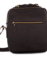 Men-Formal / Sports / Casual / Event/Party / Outdoor / Office & Career / Shopping-Cowhide-Shoulder Bag-Brown / Black