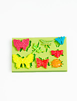 Insect Ladybug Dragonfly Butterfly Silicone Mold for Chocolate Polymer Clay Candy Sugarcraft Tools Cake Decoration Mould