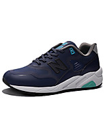 Zapatos Running Cuero / Tul Negro / Azul / Blanco / Azul Marino / Naranja Hombre